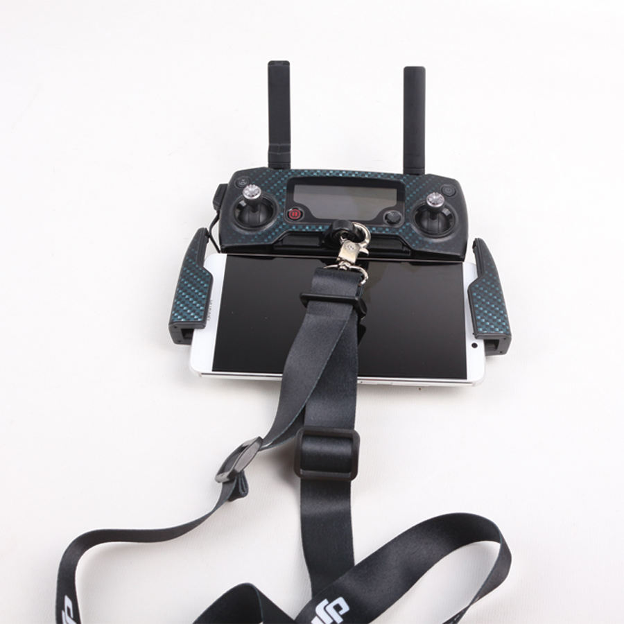 2 in 1 Combo Hook + Strap Sling Lanyard Neck Belt for DJI Spark / Mavic Pro Remote Controller Spare Parts F21455