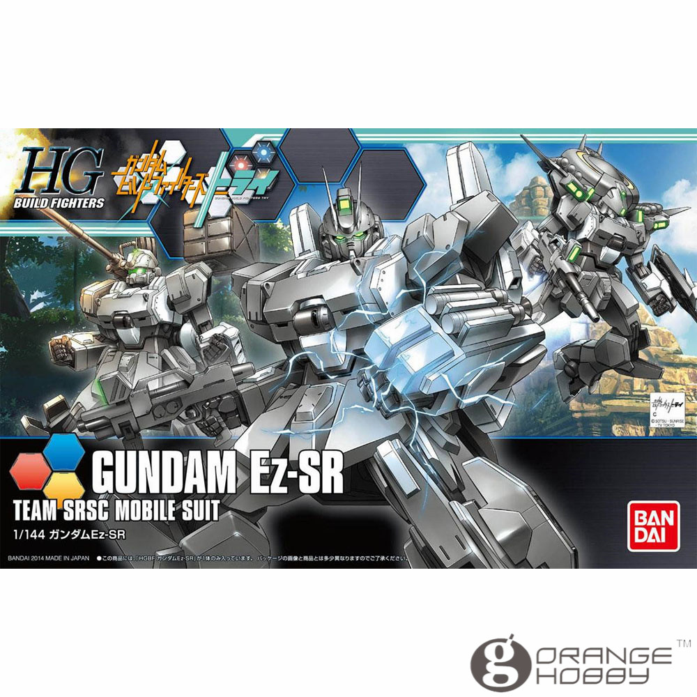 OHS Bandai HG Build Fighters 021 1/144 Gundam Ez-SR Mobile Suit Assembly Model Kits