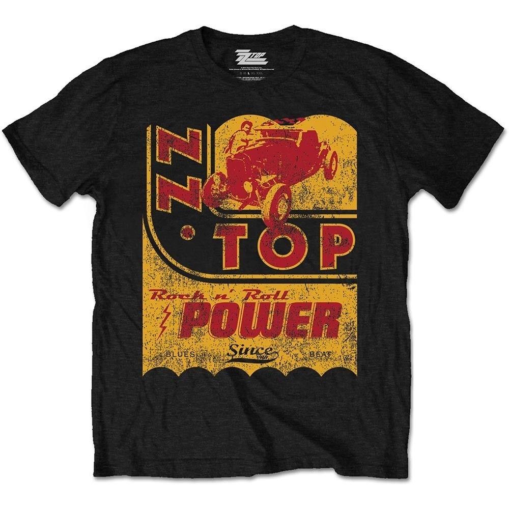Clever Zz Top T-shirt Geschwindigkeit Öl Offizielle Waren 100% Baumwolle Kurzarm O-ansatz Tops Freies Verschiffen Sommer Mode Tops Kühlen 2018