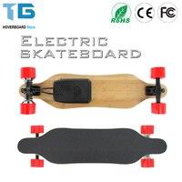 Doul Motores Electrico de Cuatro Ruedas Mini Longboard Skateboard Hoverboard Scooter De tabla Larga Junta Samsung Batería