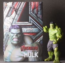 "Louco Brinquedos 1:6 2017 The Avengers 2 Super Herói Hulk 10 ""24 cm Action Figure Toys(China)"
