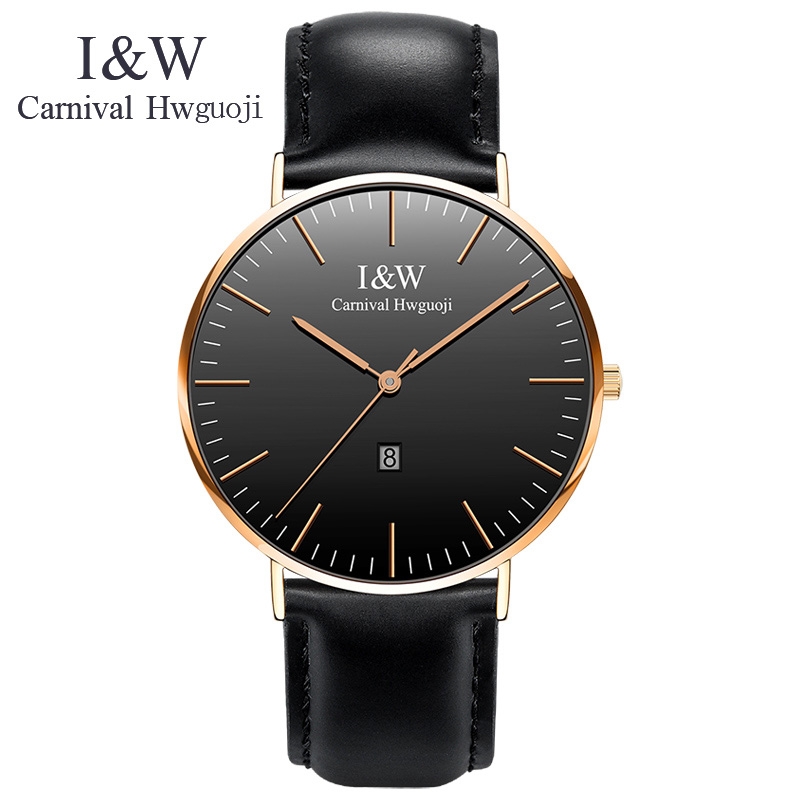 2017 Fashion Mens Watches Top Brand Luxury Carnical Watch MenComplete Calendar  Women Watches Montre Stainless Steel Simple Gift mce top brand mens watches automatic men watch luxury stainless steel wristwatches male clock montre with box 335