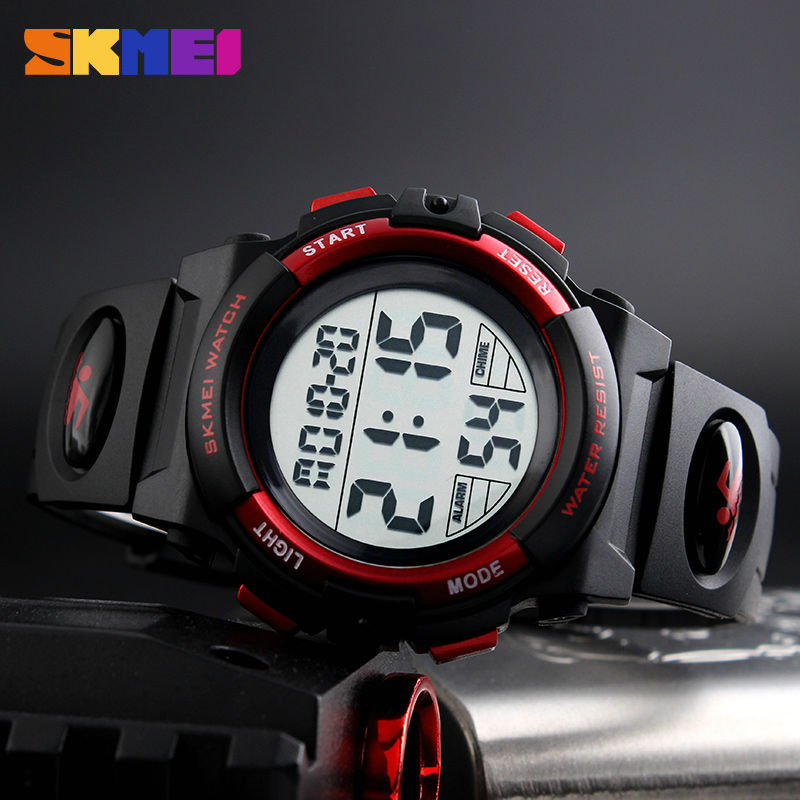 New 2017 SKMEI Brand Outdoor Sports Children Watch Kids Watches For Boys Girls LED Digital Wristwatches Waterproof Relogio Clock children sports watch led digital wristwatches waterproof outdoor watches fashion girls boys student hours relogio feminino gift