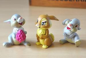 Image 5 - 7 шт./лот Классические игрушки из ПВХ в виде животных, модели оленя, куклы, фигурки героев фильма, игрушки, игрушки для детей