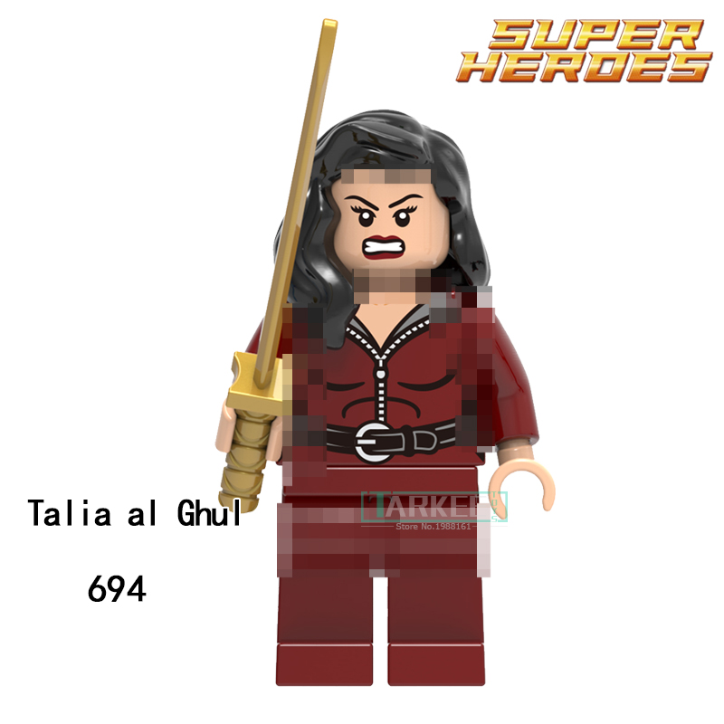 Building Blocks Talia al Ghul Anti-Venom Giganta Super Heroes Star Wars Model Action Bricks Kids DIY Toys Hobbies XH 694 Figures single building blocks kits ninja pythor kozu lloyd zane nya figures super heroes star wars model bricks kids toys hobbies x0143