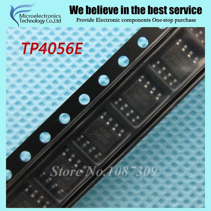 2500 шт. Бесплатная доставка TP4056E TP4056 SOP8 1A литий-ионный аккумулятор, зарядное устройство чип новый оригинальный