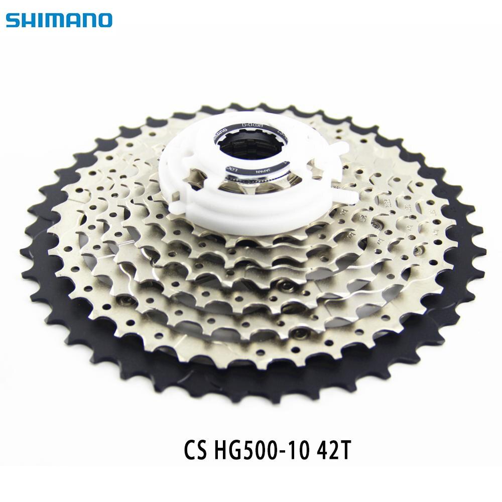 SHIMANO CS-HG500 11-42T Deore Cassette Sprocket  MTB Downhill 10 speed Bike