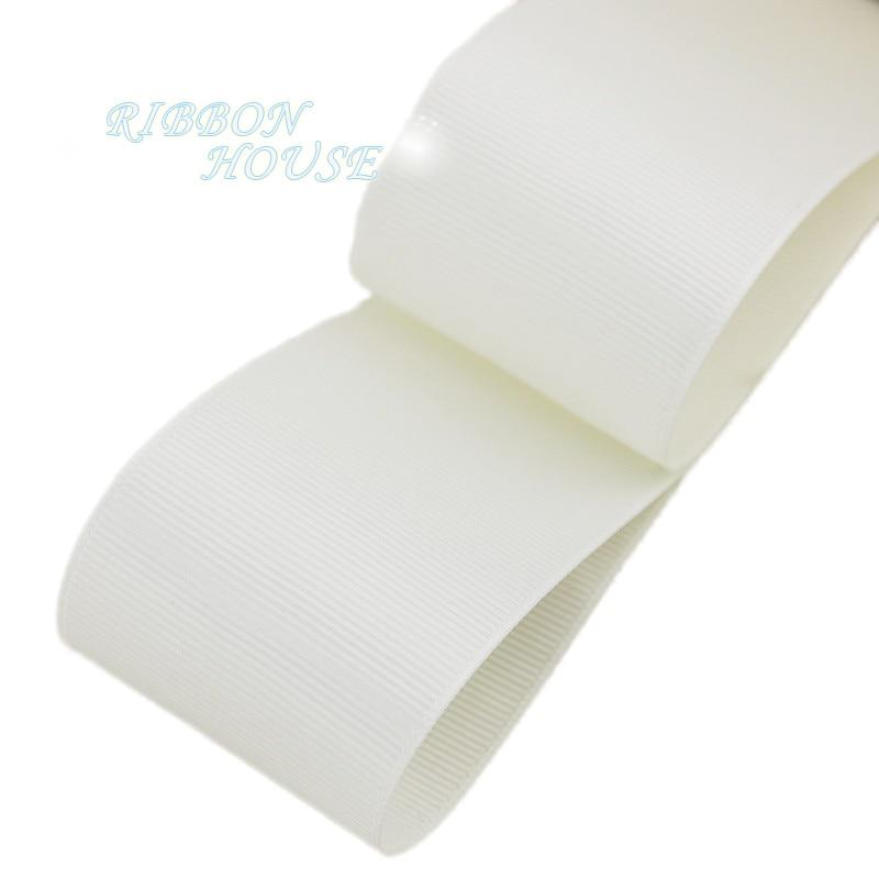(5 м/лот) 2 «(50 мм) Кремовый корсажная лента подарочная упаковка оптом Рождество украшение ленты