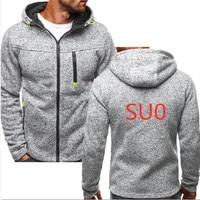 SU0 Fashion Long Sleeves Spring Mens Casual Zipper Hoody MC Hoodie Men Off White Man Sweatshirt Harajuku Pullover Casual Hoodies