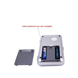 Image 2 - Przez DHL/Fedex 50 sztuk/partia 1000g x 0.1g Mini 1 kg elektroniczny 5 klawiszy kieszonkowy skala LCD wyświetlacz cyfrowy biżuteria waga waga 30% off