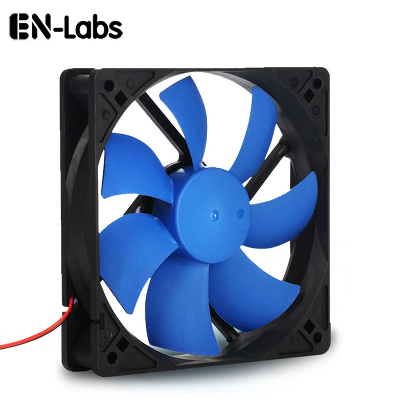 En-Labs PC Computer 120mm Oil Bearing 16dBA Ultra Silent Case Fan Heatsink Cooler Cooling,12CM Fan Power By Molex IDE 4pin