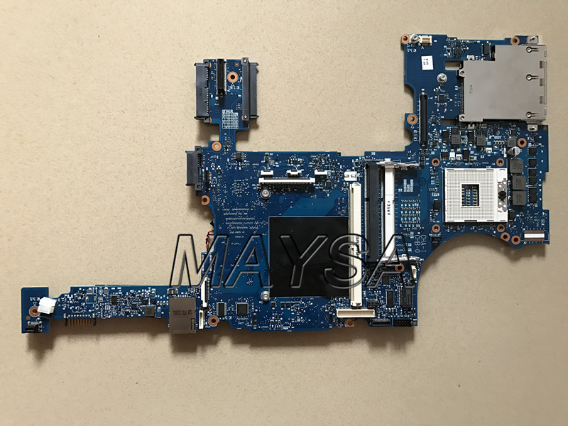 KEFU For HP 8760W 8760P Laptop Motherboard 652509-001 652508-001 MAIN BOARD QM67 DDR3 with graphics slot free shipping 690643 001 motherboard for hp elitebook 8570w system board main board hd4000 j8a with graphics slot 100