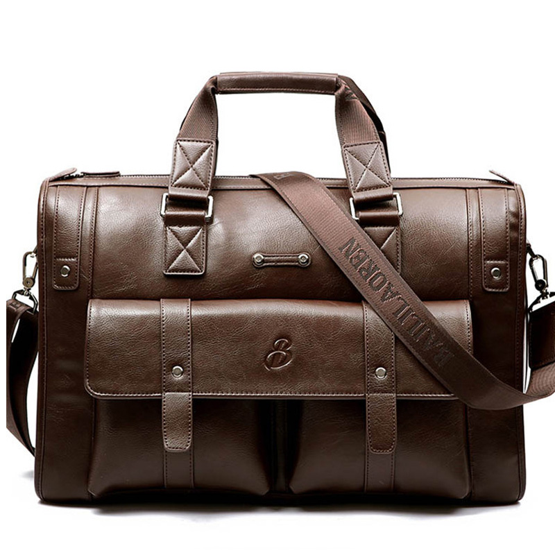 Brand Business Briefcases laptop handbag men s shoulder Crossbody bag fashion Luxury Casual Large capacity Travel