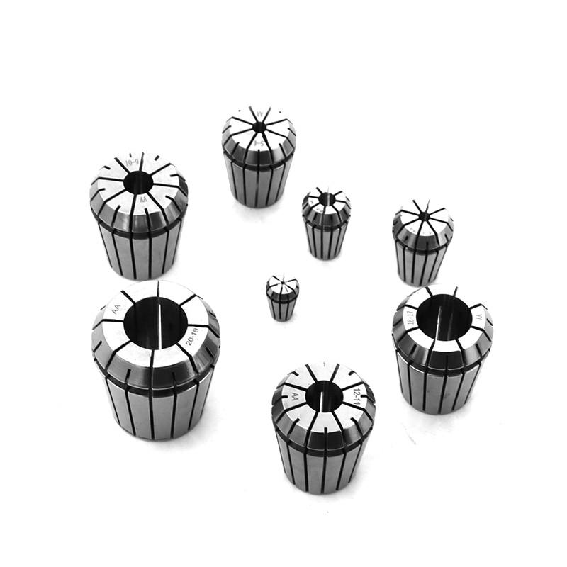 1PC ER11 3mm 1/8 Inch (3.175mm) 4mm 6mm Spring Collet Chucks Tool Holder For CNC Engraving Machine&Milling Lathe