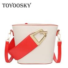 TOYOOSKY Women Leather Designer Handbags High Quality Crossbody Shoulder Bags Ladies Fashion Brand Portable Wristlets Package