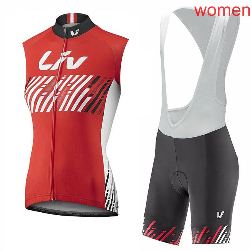 Maillot Ciclismo Summer Womens Cycling Clothing Sleeveless Bicycle Clothing New Breathable Bike Jersey Cycling Jersey Set A2302