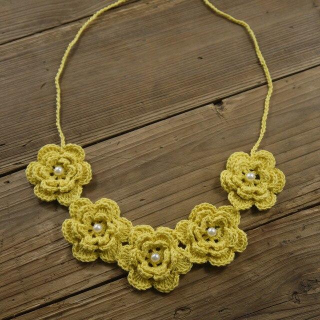 collier crochet