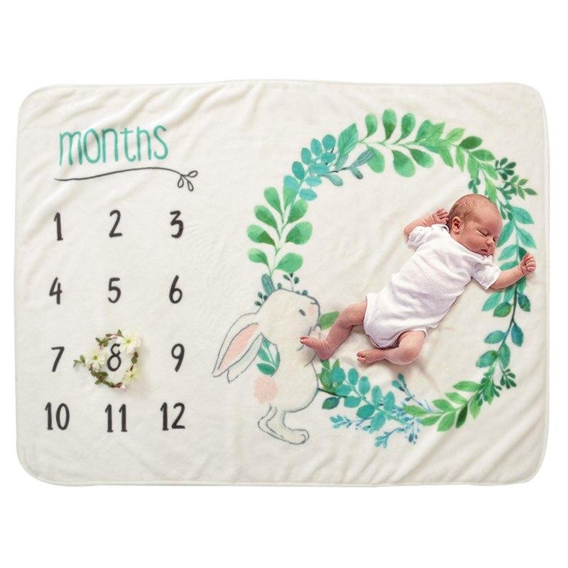 Детское одеяло, фон, одеяло, новорожденные реквизиты для фотографии, младенческий ковер для маленьких мальчиков и девочек, реквизит для фотосессии, аксессуары для фотосессии - Цвет: F1-102X70cm