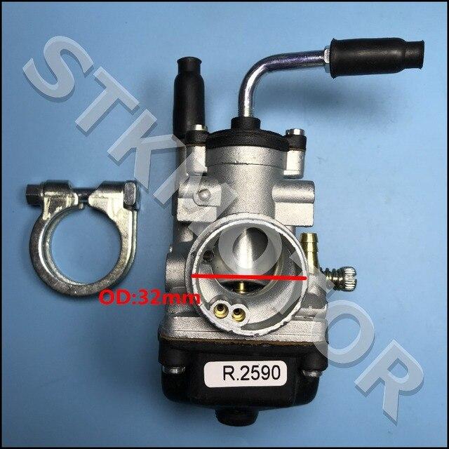 Free Shipping 21 Carburettor POLINI 21 PHBG MBK 51 For PEUGEOT 103 COPPY DELLORTO 2590 carburetor