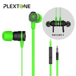 Image 1 - Małe Hammerhead G20 słuchawki gra PUBG douszne słuchawki z mikrofonem przewodowa magnetyczna izolacja akustyczna Stereo PK hammerh v2 pro
