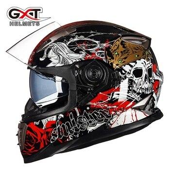 Free shipping 1pcs GXT 8 Colors Full Open Face Modular Flip Up Dual Visor DOT Capacete Casque Motorcycle Helmet