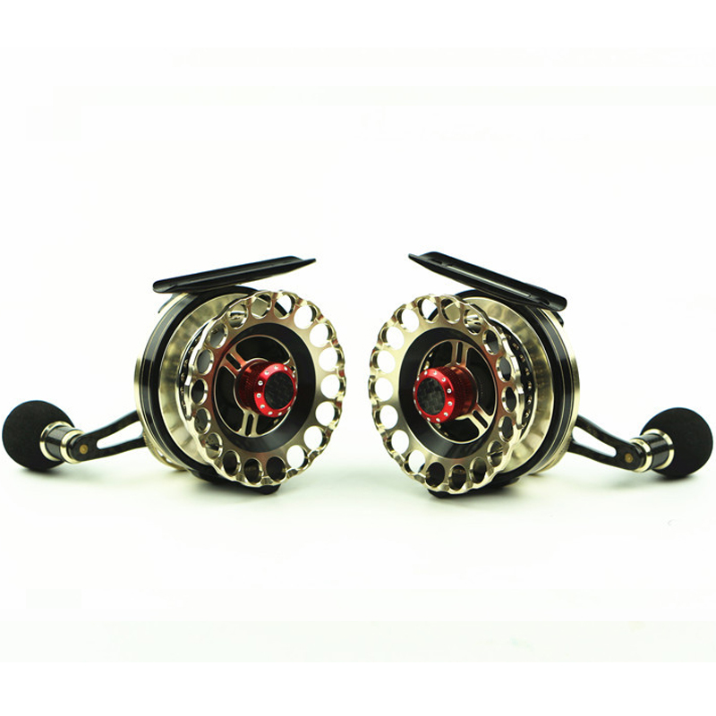 New Hot Sale Fishing Reels Spinning metal Best Quality Fly Fishing Fish Line Wheel Left Right Black Color