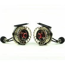 Новые горячие продажи рыболовные катушки Спиннинг металл лучшее качество Fly Рыбалка рыба линия колесо левый и правый черного цвета