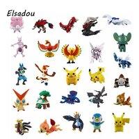 Elsadou 72ピース2-3センチpokeballピカチュウのおもちゃクリスマスギフト