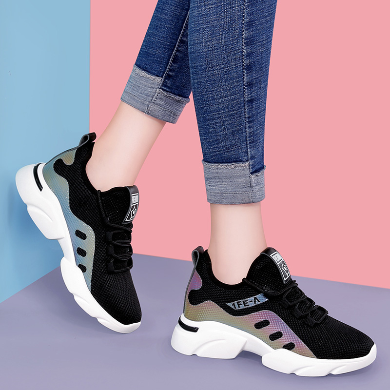 Course 2 Profonde Kelly Maille Nouvelle Chaussures Sauvage Respirant Bouche 2019 Peu 1 Sac De Augmenté Femmes qAZAOz