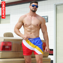 Desmiit Swimwear Men's Board Shorts Summer Beach Surf Fast Dry Man Swim Shorts Sport Running Gym Hybrid Home Shorts