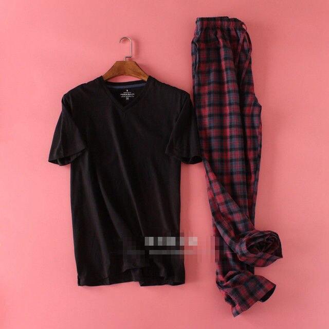 100% Cotton Pajamas For Men Plus Size Available 2