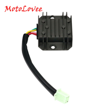 MotoLovee 4 Pins Wires Voltage Regulator Rectifier GY6 150-250cc ATV Quad Moped Scooter Buggy Motorcycle Motorbike