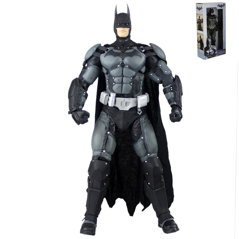 Neca DC Comics Batman Arkham Origins Super Hero 1/4 Scale Action Figure Free Shipping neca dc comics batman arkham origins super hero 1 4 scale action figure