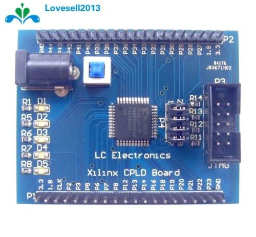 XC9572XL Xilinx  CPLD AMS Development Learning Board Test Board 4 Programm LED