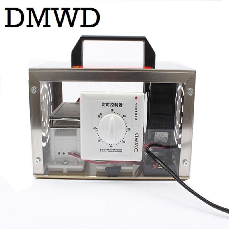 DMWD 20g purificateur d'air O3 générateur d'ozone plaque 20000 mg/h ozonateur Portable ozoniseur nettoyeur stérilisateur interrupteur de synchronisation 110V 220V