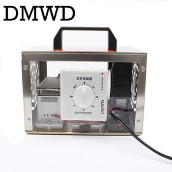 Purificador de aire DMWD 20g placa generador de ozono O3 20000 mg/h ozonizador portátil limpiador esterilizador interruptor de sincronización 110V 220V