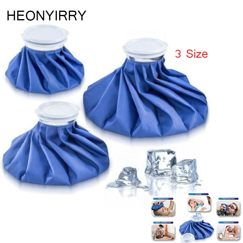 3 Size Sport Injury Ice Bag Cap Reusable Health Care Cold Therapy Pack Cool Pack Muscle Aches First Aid Relief Pain Massage Tool common sense relief instant reusable heat pack for back pain neck and shoulders knee