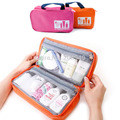 1pc Suburbs Medicine Box  Necessaries Travel Organzier Bolsas Closet Cosmetic Bags -- BIB051 PRP