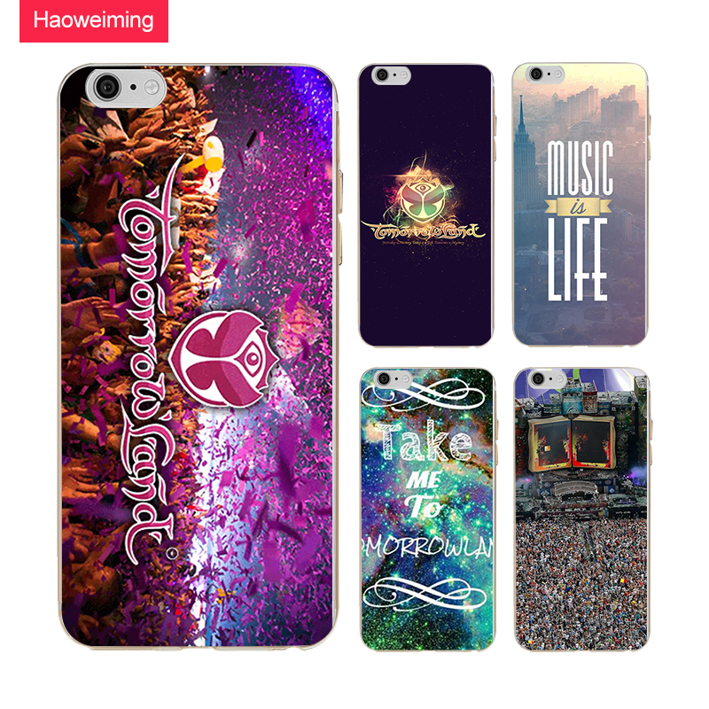Haoweiming Tomorrowland Music Festival Silicone Soft TPU Case Cover For Samsung Galaxy J2 J3 J4 J5 J6 J7 Prime 2016 2017 H430