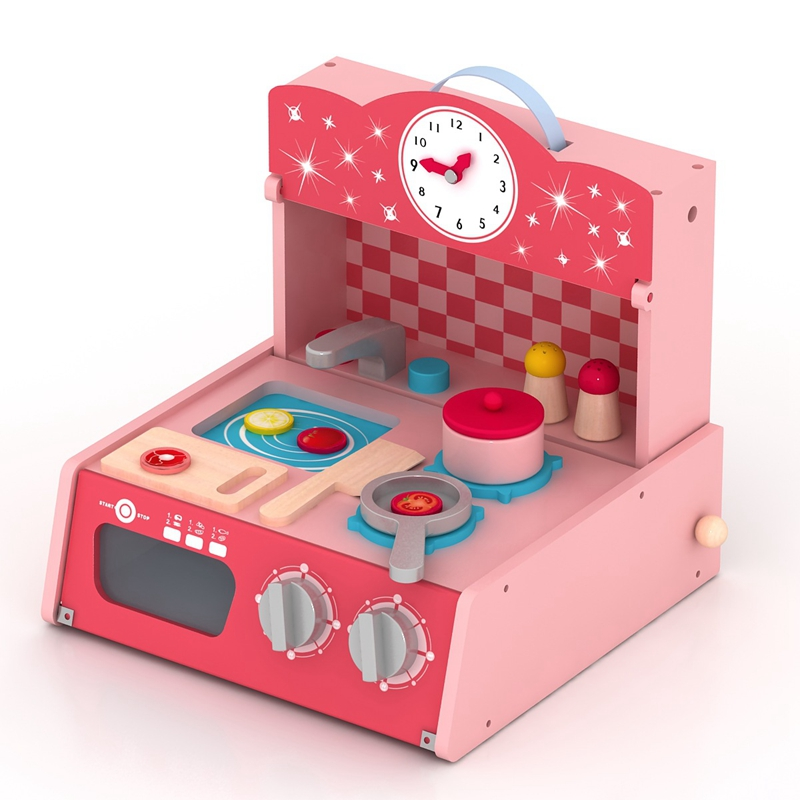 Early Childhood Education Family Toys Wooden Toys Have Fun At Home To Cultivate Hand-eye Coordination Children's Kitchenette puzzle multifunctional piano baby early education music hand drums intelligent piano toys