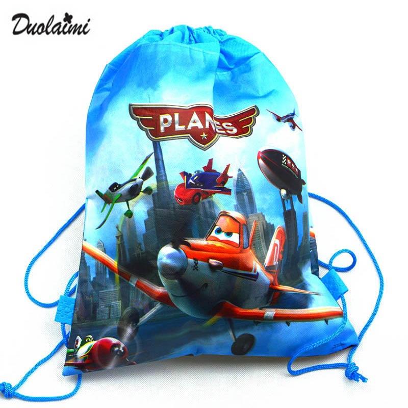 1Pic children schoolbags Princess Drawstring Bags Cartoon DUOLAIMI For Girls Boys multipurpose school font b backpack
