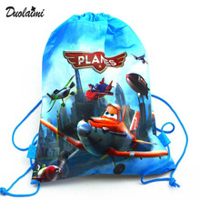 1Pic children schoolbags Princess Drawstring Bags Cartoon DUOLAIMI For Girls & Boys multipurpose school backpack Christmas 40