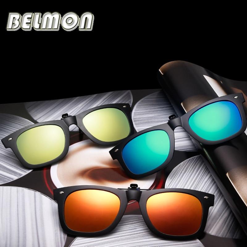 משקפי שמש מקוטבים על משקפי שמש גברים נשים מותג מעצב בטיחות נהיגה ראיית לילה עדשות הנהג UV400 גוונים RS218