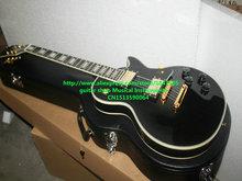 Gitarren Schwarze Kundenspezifische Elektrische Gitarre Hochwertigen HOT Hohe Qualität mit Hardcase