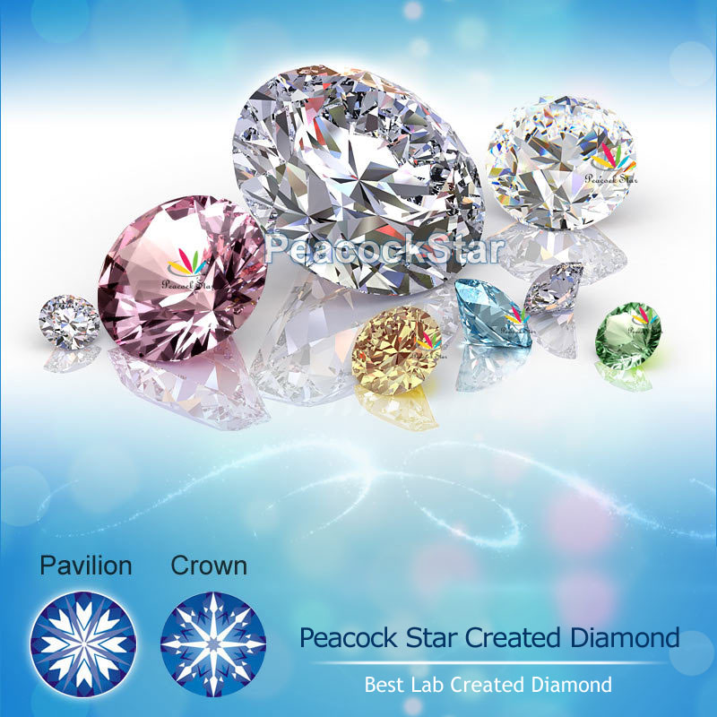 Image 2 - Peacock Star 1.5 Carat Princess Solid 925 Sterling Silver Wedding Promise Engagement Ring Set CFR8141-in Engagement Rings from Jewelry & Accessories