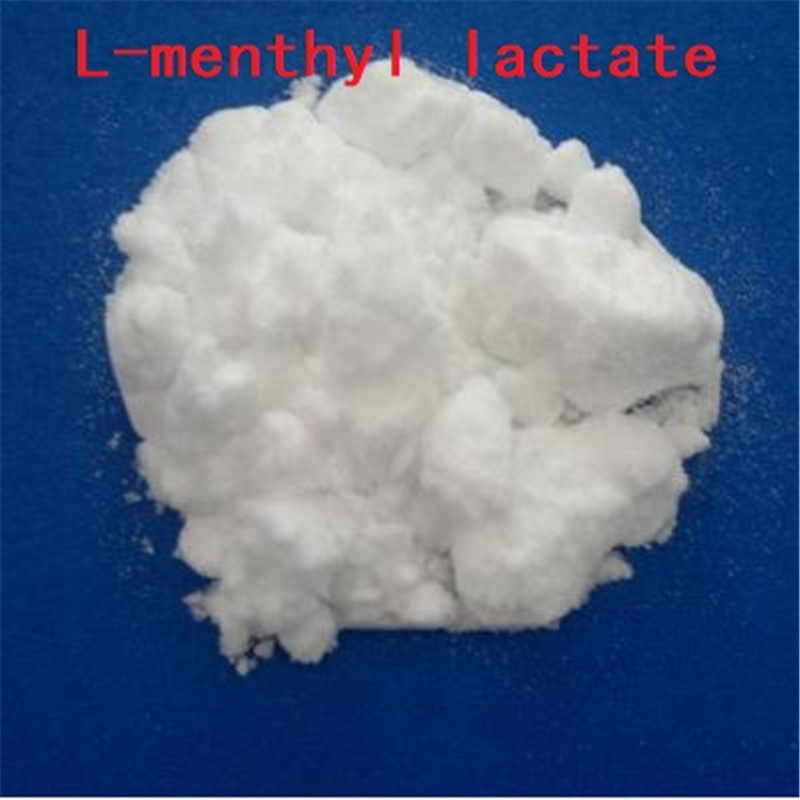 1KG/ bag L-menthyl lactate Menthol lactate Long-lasting and odorless cooling agent Solid spice