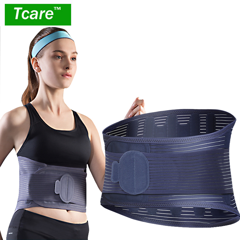 Tcare Lower Back Brace Support Pain Relief Belt Protects & Relieves Back Pain Stabilizing Lumbar with Breathable Mesh Panels soft laser healthy natural product pain relief system home lasers