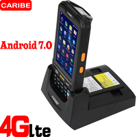Caribe PL 40L Portable Android wireless data terminal top quality 2d qr code phone barcode scanner