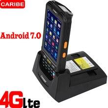 Caribe PL-40L Портативный Android терминал беспроводной передачи данных наивысшего качества 2d qr-код сканер штрих-кода