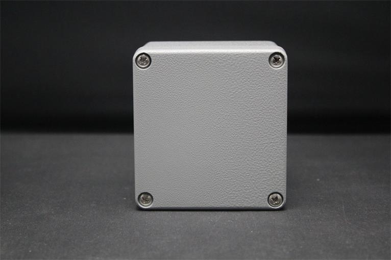 80*75*60MM Size Industrial Waterproof Aluminium Box / Electrical Aluminium Enclosure With CE,ROHS 2015 ip66 electrical aluminium enclosure waterproof box 300 210 130 with 4 screws